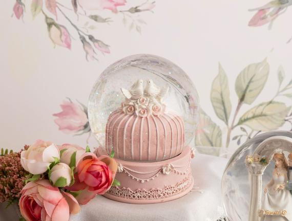 Gâteaux Kar Küresi - Pembe