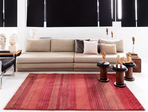 Orient Prunille Halı - Bordo - 120x170 cm