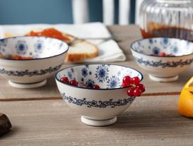 Rêve Bleu Neige New Bone China Kase