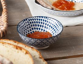 Rêve Bleu Baisse New Bone China Kase