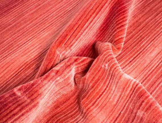 Glare Poiters Halı - Kırmızı
