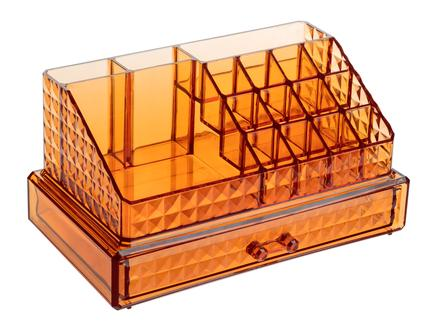 Diamond Piramit Set Makyaj Organizer - Amber