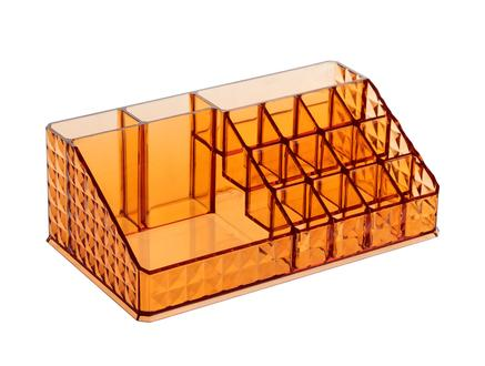 Diamond Piramit Makyaj Organizer - Amber