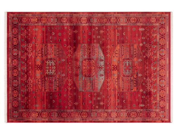 Glare Comte Carpet - Red
