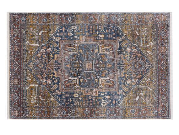Glare Rouen Carpet - Navy