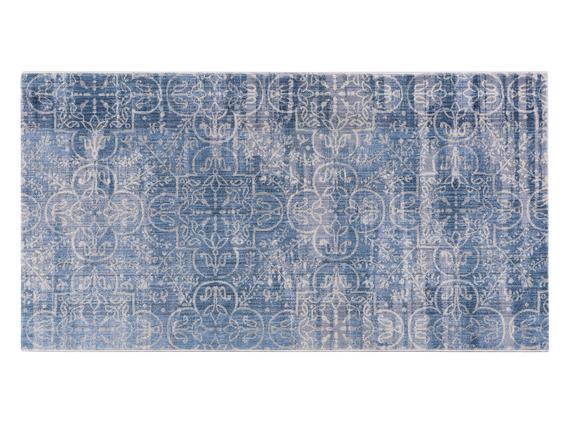 Glare Normandy Halı - Mavi - 80x150 cm