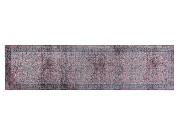 Glare Mulhouse Halı - Lacivert - 80x300 cm
