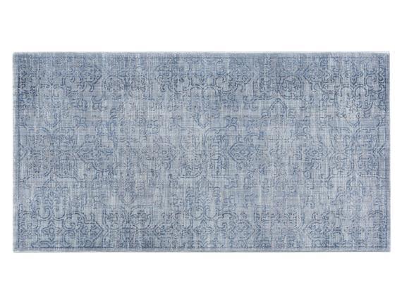 Glare Dunkerque Halı - Mavi - 80x150 cm