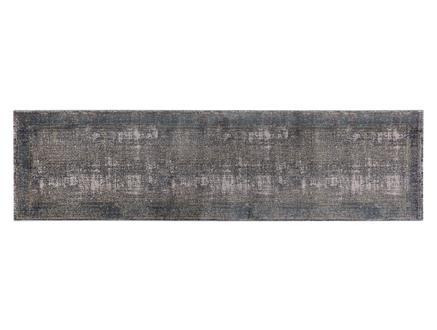 Glare Limoges Halı - Gri - 80x300 cm