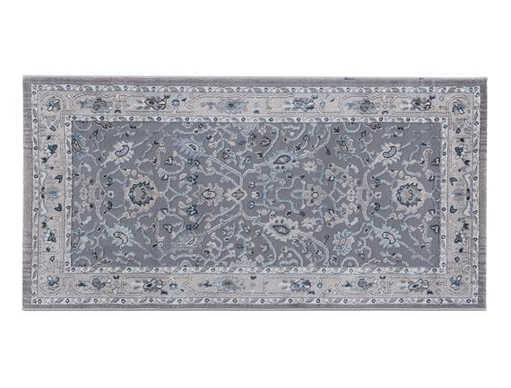 Vivid Helie Halı - Gri - 76x150 cm