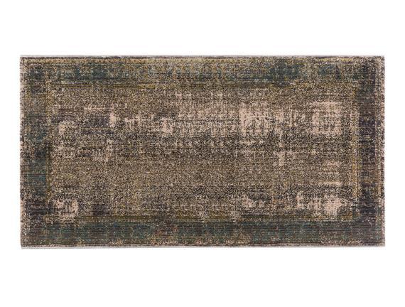 Glare Limoges Halı - Gri - 80x150 cm