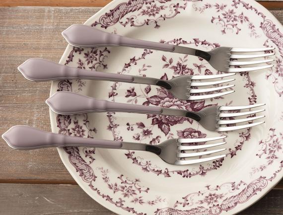 Victoria Lilac Yemek Çatalı