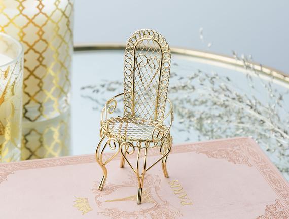 Mini Chaise Biblo - Gold
