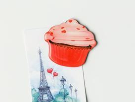Refrigerator Magnet - Cupcake