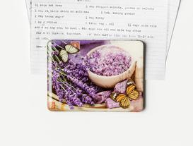 Refrigerator Magnet - Lavender