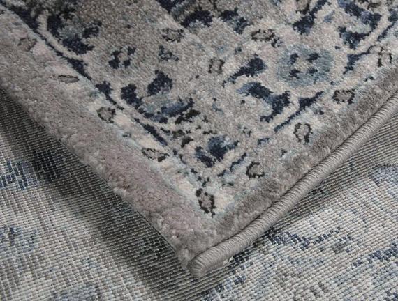 Orient Bleutte Halı - Gri - 76x150 cm