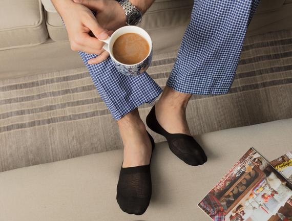 2'li Erkek Çorap - Siyah