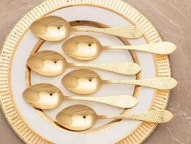 Al Dotted 6-Piece Dinner Spoon