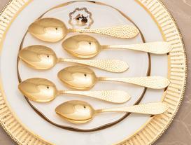 AL Pointed 6-Piece Dessert Spoon