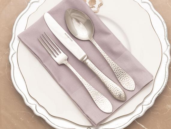 La Rosee 6'lı Yemek Çatalı Seti