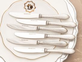 La Rosee 6-Piece Dessert Knife Set