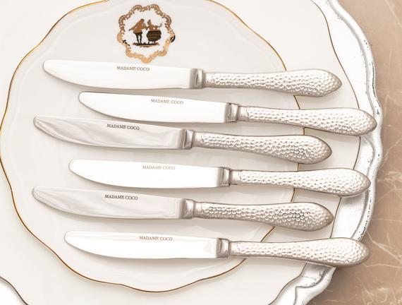 La Rosee 6'lı Tatlı Bıçağı Seti