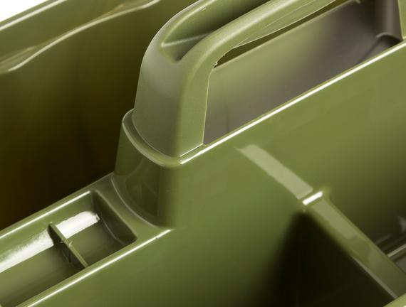 Robuste Bölmeli Düzenleyici - Koyu Yeşil