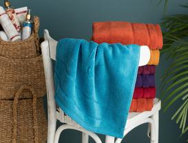 Daily Microcotton Face Towel - Blue