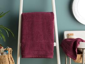 Daily Microcotton Towel - Damson