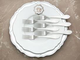 La Rosee 6-Piece Dinner Fork Set