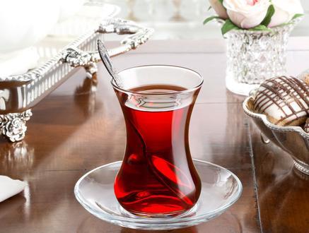 Carlotta 6'lı Çay Bardağı