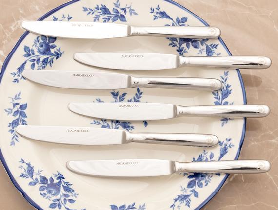 Fleur De Lys Tatlı Bıçağı 6`li Set