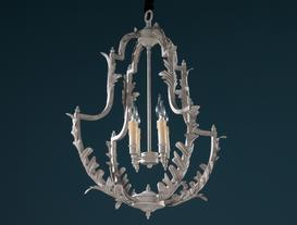 Royale Chandelier - Silver