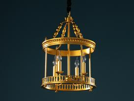 Cosalindo Chandelier - Gold