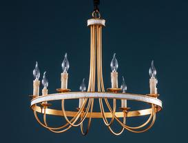 Elanion Chandelier - Gold