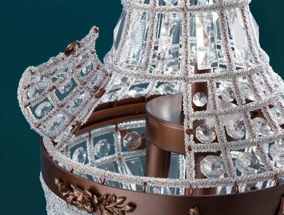 Gatsby Masa Lambası - Bronz