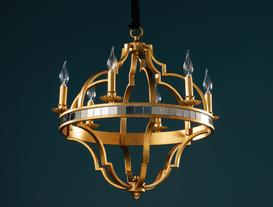 Chevalier Chandelier - Gold