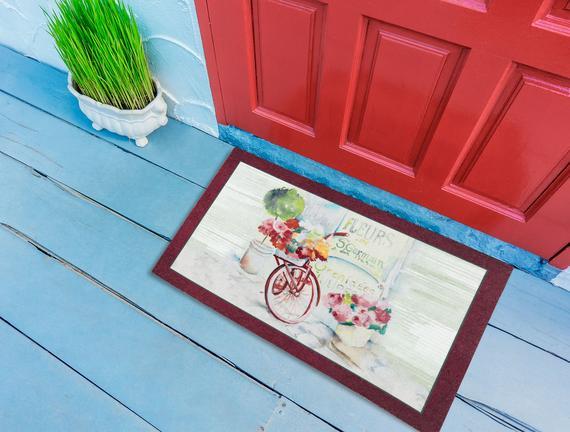 Cycle Kapı Önü Paspası - Mürdüm