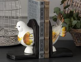Güvercin 2'li Kitap Tutucu