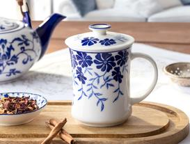 Rêve Mudan Kapaklı Porselen Kupa