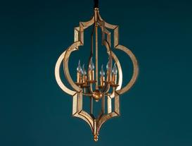 Palais Royal Chandelier - Gold