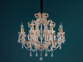 Avantgarde Chandelier - Gold