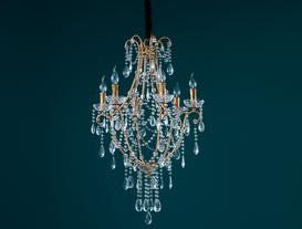 Versaille Chandelier - Gold