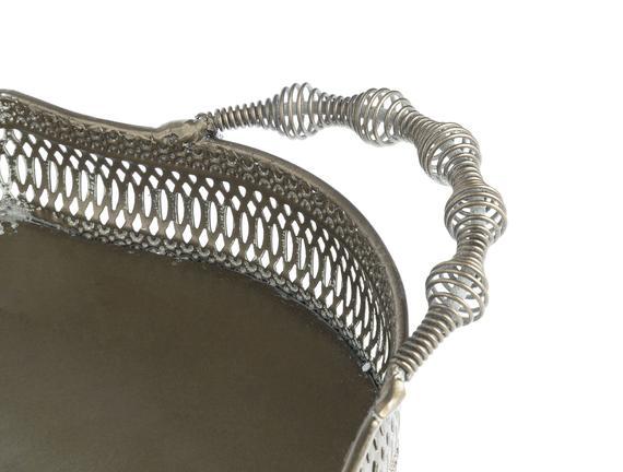 Olea Metal Tepsi - Oval