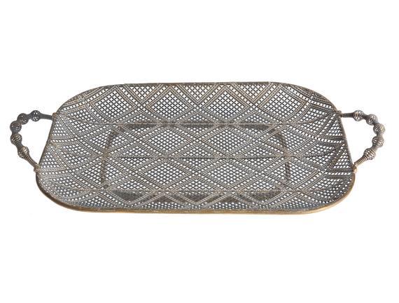 Avangarde Metal Tepsi - Dikdörtgen