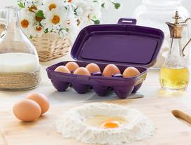 Actuel 8'li Yumurta Kabı - Mor