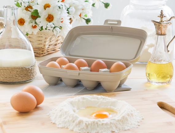 Actuel 8'li Yumurta Kabı - Taş