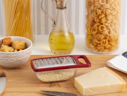 Daily Hazneli Sarımsak ve Peynir Rendesi - Carmen Kırmızı