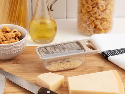 Daily Hazneli Sarımsak ve Peynir Rendesi - Soft Bej