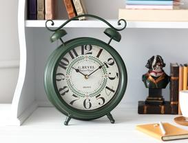 Palace Royal Masa Saati - Koyu Yeşil